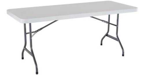 6ft rectangular tables