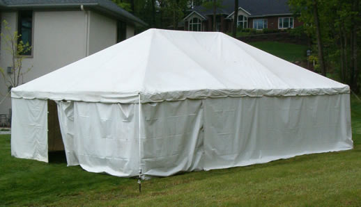 white tent side walls macomb party rentals & Michigan Tent Rentals - Tent Rentals in Macomb County MI - Pole ...